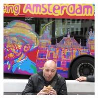 2015-un burger à AMSTERDAM