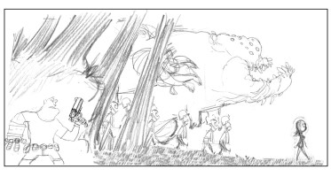 hellboy invasion (rough)