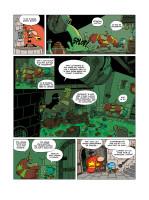 07- Page définitive en couleur avec le texte et le trait noir.