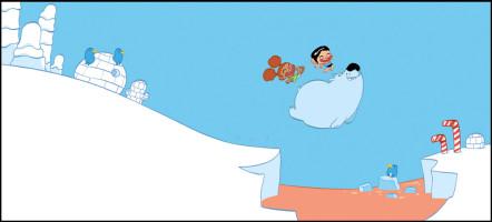 le pôle nord à la vanille