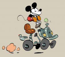 l'auto de mickey