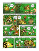page pour la galerie des illustres de SPIROU