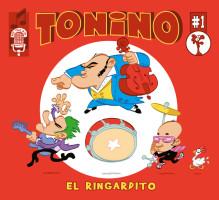 pochette de disque du groupe caennais TONINO
