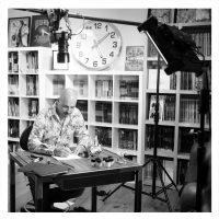 2016-tournage dans mon atelier du COURS DE DESSIN pour arte.