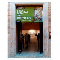 2017-exposition MICKEY du Festival de Rome au Musée Macro Testaccio.